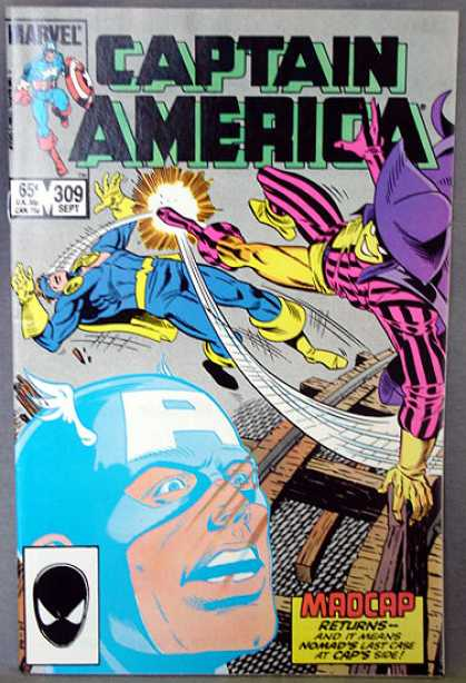 Captain America 309 - Madcap - Returns - Nomad - Kick - Last