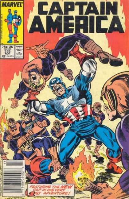 Captain America 335 - Joe Sinnott