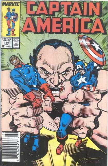 Captain America 338 - Joe Sinnott