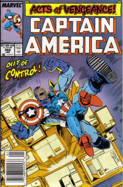 Captain America 366 - Ron Lim