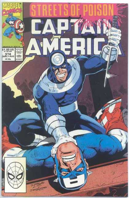 Captain America 374 - Ron Lim