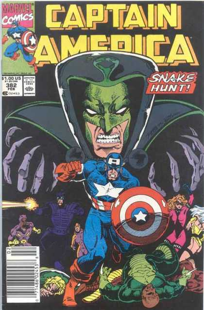 Captain America 382 - Mask - Bald Head - Women - Men - Flash - Ron Lim