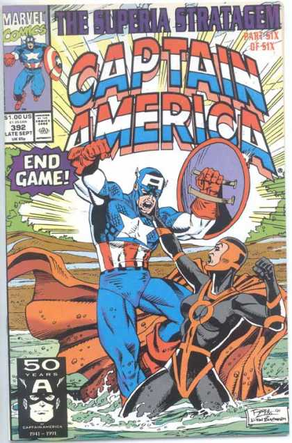 Captain America 392 - Ron Lim