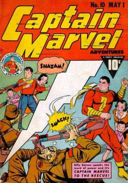 Captain Marvel Adventures 10 - Clarence Beck