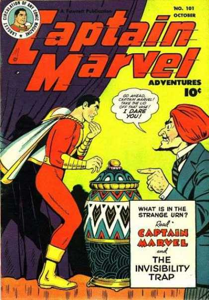 Captain Marvel Adventures 101 - Clarence Beck