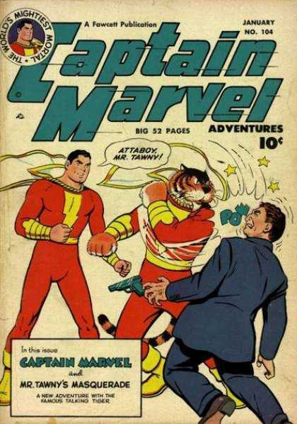 Captain Marvel Adventures 104 - Clarence Beck