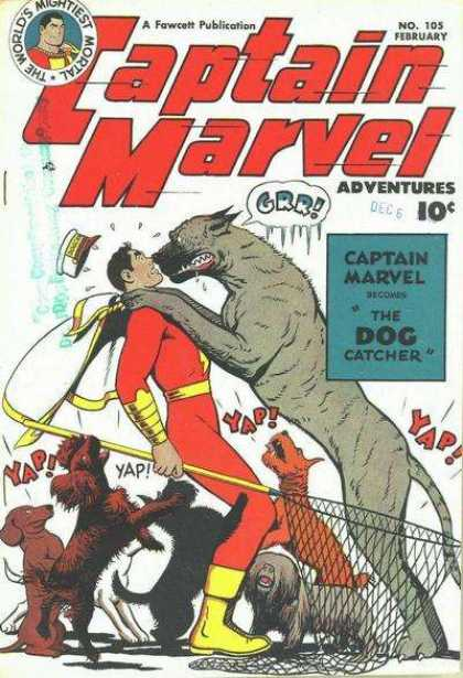 Captain Marvel Adventures 105 - Clarence Beck