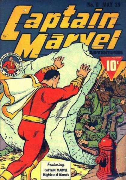 Captain Marvel Adventures 11 - Clarence Beck