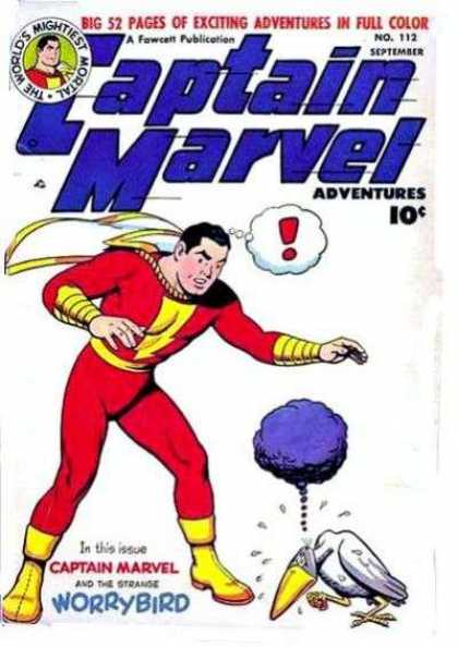 Captain Marvel Adventures 112 - Clarence Beck