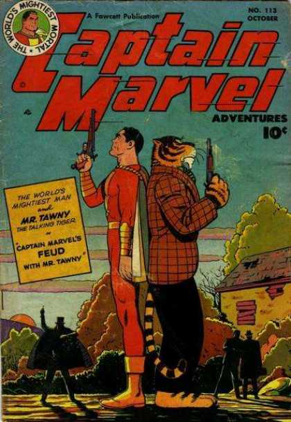 Captain Marvel Adventures 113 - Clarence Beck