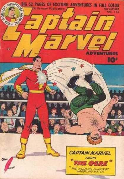 Captain Marvel Adventures 114 - Clarence Beck