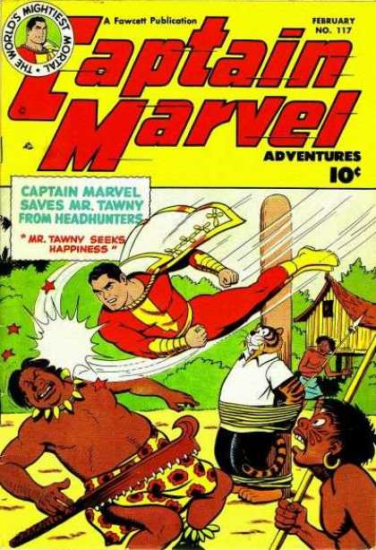 Captain Marvel Adventures 117 - Clarence Beck