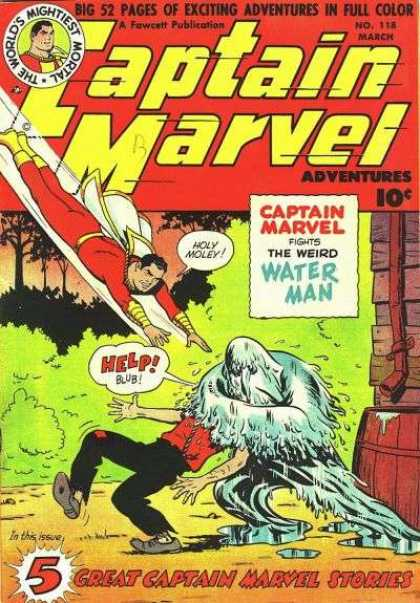 Captain Marvel Adventures 118 - Clarence Beck