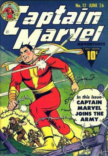 Captain Marvel Adventures 12