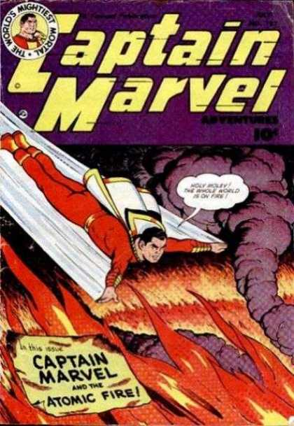 Captain Marvel Adventures 122 - Clarence Beck