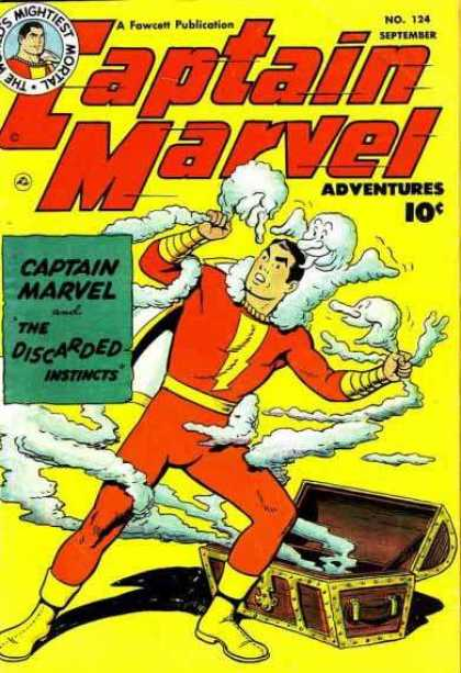 Captain Marvel Adventures 124 - Clarence Beck