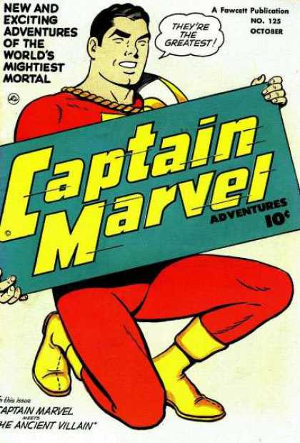 Captain Marvel Adventures 125 - Clarence Beck