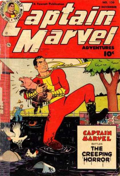 Captain Marvel Adventures 126 - Clarence Beck