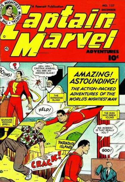 Captain Marvel Adventures 127 - Clarence Beck