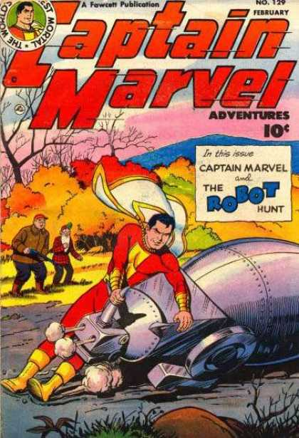 Captain Marvel Adventures 129 - Clarence Beck