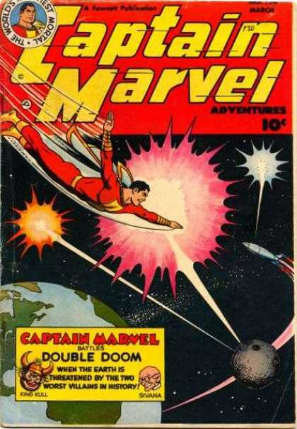 Captain Marvel Adventures 130 - Clarence Beck