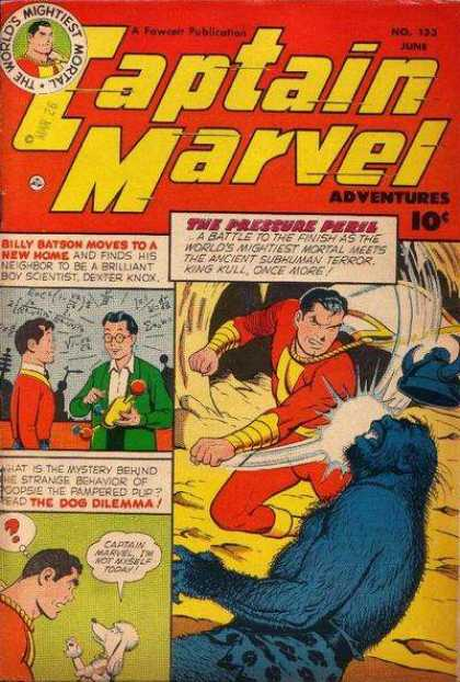 Captain Marvel Adventures 133 - Man - People - Captain - Stand - Hard - Clarence Beck