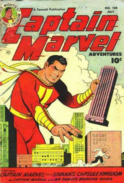 Captain Marvel Adventures 134 - Clarence Beck
