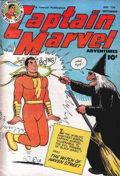 Captain Marvel Adventures 136 - Clarence Beck