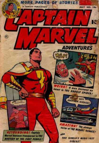 Captain Marvel Adventures 146 - Clarence Beck