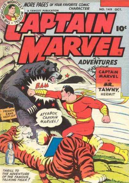 Captain Marvel Adventures 149 - Clarence Beck