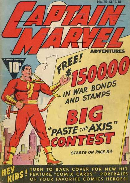 Captain Marvel Adventures 15 - Clarence Beck