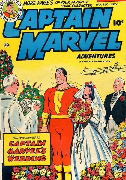 Captain Marvel Adventures 150 - Clarence Beck