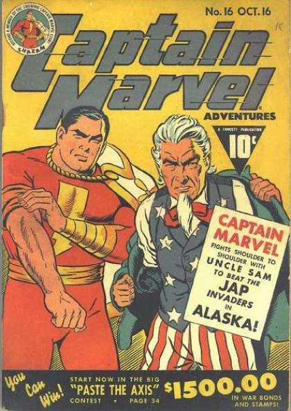 Captain Marvel Adventures 16 - Clarence Beck