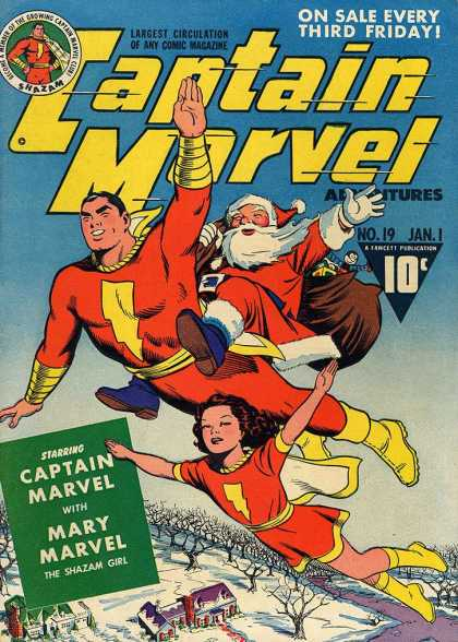 Captain Marvel Adventures 19 - Clarence Beck
