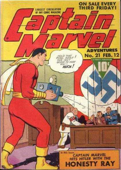 Captain Marvel Adventures 21 - Clarence Beck