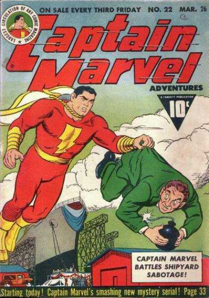 Captain Marvel Adventures 22 - Clarence Beck