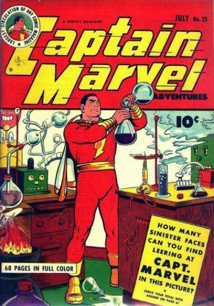 Captain Marvel Adventures 25 - Clarence Beck
