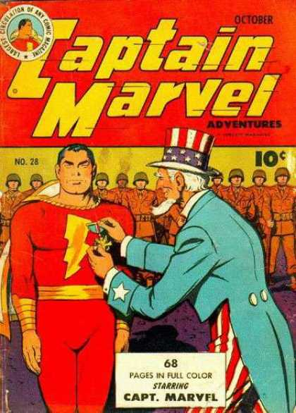 Captain Marvel Adventures 28 - Clarence Beck