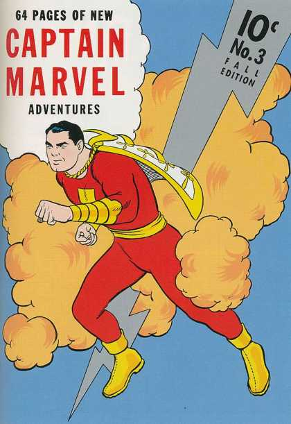 Captain Marvel Adventures 3 - Clarence Beck