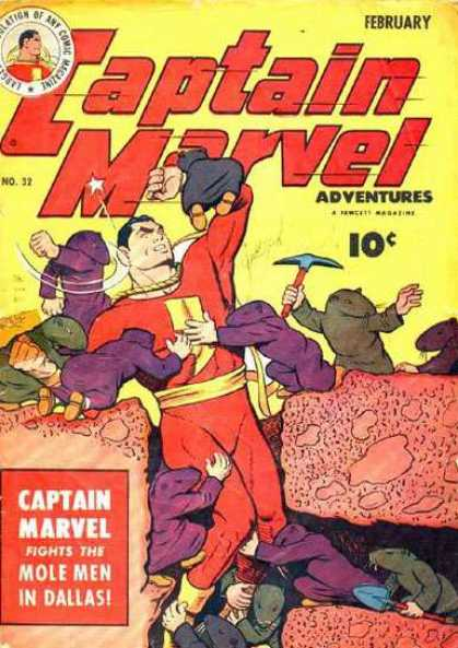 Captain Marvel Adventures 32 - Clarence Beck