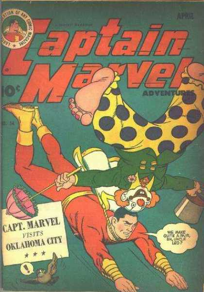 Captain Marvel Adventures 34 - Clarence Beck