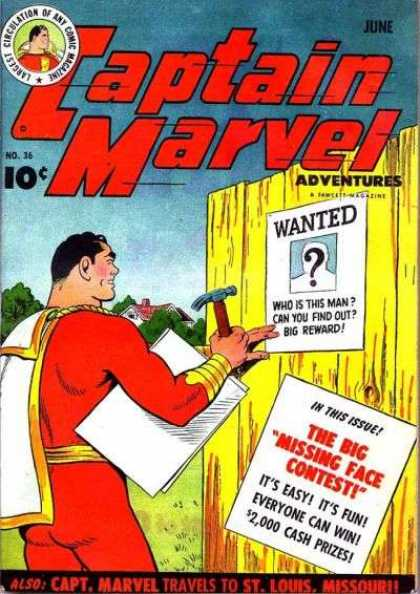 Captain Marvel Adventures 36 - Clarence Beck