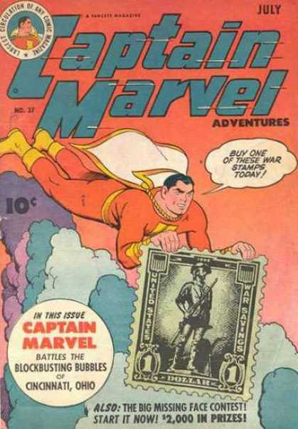 Captain Marvel Adventures 37 - Clarence Beck