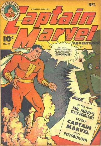 Captain Marvel Adventures 39 - Clarence Beck