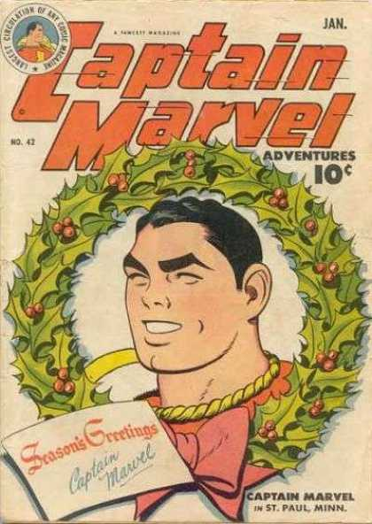 Captain Marvel Adventures 42 - Clarence Beck