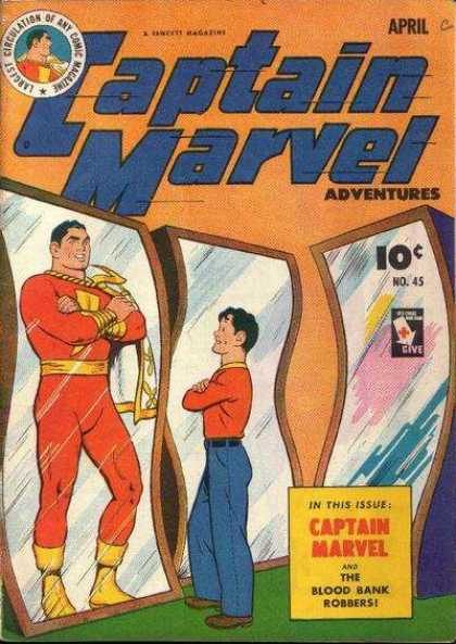 Captain Marvel Adventures 45 - Clarence Beck