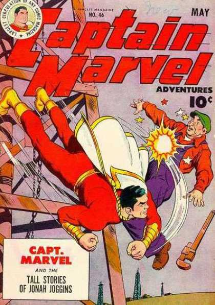 Captain Marvel Adventures 46 - Clarence Beck