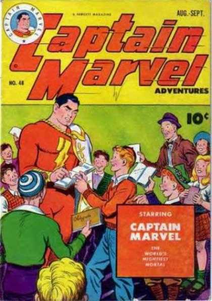 Captain Marvel Adventures 48 - Clarence Beck