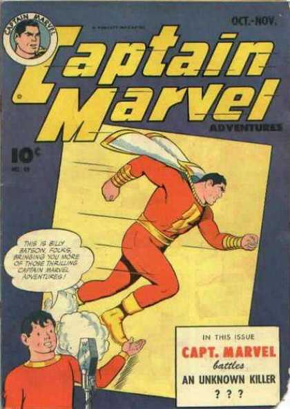 Captain Marvel Adventures 49 - Clarence Beck