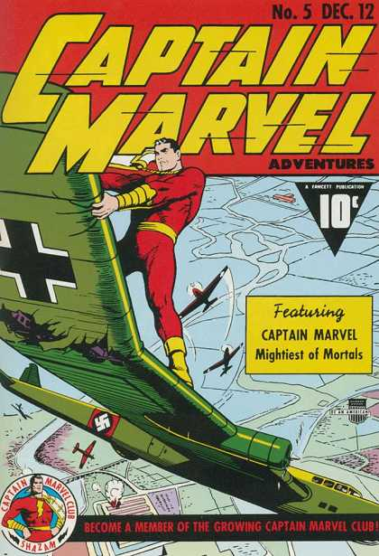 Captain Marvel Adventures 5 - Clarence Beck